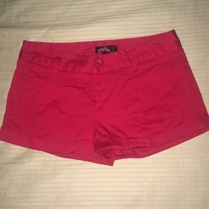 Pants - Red Shorts